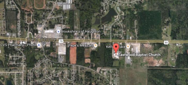 map eastwood baptist church
